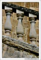 Caltanissetta. Chiesa Sant'Agata al Colelgio. Particolare delle balaustre  - Caltanissetta (2545 clic)