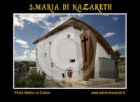 San Cataldo (CL).  COMPLESSO PARROCCHIALE S.MARIA DI NAZARETH. Esterno. Photo Walter Lo Cascio www.walterlocascio.it  - San cataldo (4831 clic)