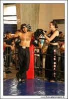 Agira, Giugno 2005. Combattimento di Kick Boxing.  - Agira (3793 clic)