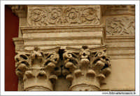 Caltanissetta. Chiesa Sant'Agata al Colelgio. Particolare dei capitelli.  - Caltanissetta (2789 clic)