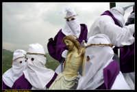 Villarosa: Il Venerdi' Santo a Villarosa. La Crocifissione. Photo Walter Lo Cascio. www.walterlocascio.it  - Villarosa (5422 clic)