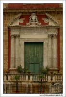 Caltanissetta. Chiesa Sant'Agata al Colelgio. Particolare del prospetto.  - Caltanissetta (2774 clic)