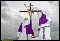 Villarosa: Il Venerdi' Santo a Villarosa. La Crocifissione. Photo Walter Lo Cascio. www.walterlocascio.it  - Villarosa (5586 clic)