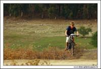 Regalbuto, Settembre 2005. Il parco del lago di pozzillo. Bambino su mountain Bike.  - Regalbuto (3293 clic)