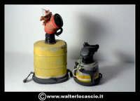 Caltanissetta: Reportage Fotografico sulle miniere. Oggetti da minatore. Respiratore. Collezione privata Sig. Mario Zurli.  - Caltanissetta (3260 clic)