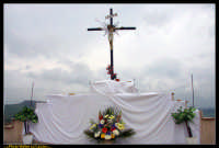 Villarosa: Il Venerdi' Santo a Villarosa. La Crocifissione. Photo Walter Lo Cascio. www.walterlocascio.it  - Villarosa (5715 clic)
