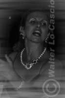 Caltanissetta: Pianista e la soprano, durante un'esecuzione musicale al Ristorante Tiffany, in occasione del Meeting Internazionale dei Cardiologi, tenutosi a Caltanissetta nei giorni 10 e 11 Settembre 2005. Foto 9  - Caltanissetta (2500 clic)