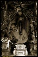 Caltanissetta: Settimana Santa a Caltanissetta 2009. Cristo Nero. Processione del Cristo Nero a Caltanissetta. Processione del Venerdi' Santo a Caltanissetta. Photo Walter Lo Cascio www.walterlocascio.it  - Caltanissetta (3884 clic)