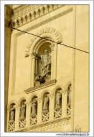 Agira, Agosto 2005. Chiesa Reale Abazia. Particolare prospetto.  - Agira (1892 clic)