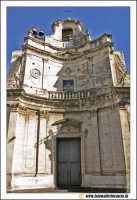 Acireale: Corso Umberto. Chiesa di San Rocco. Facciata tipica Barocca.  - Acireale (4347 clic)