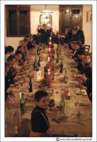 Bolognetta: Tavolata tipica siciliana. Antica Masseria Leonardo  - Bolognetta (8372 clic)