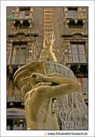 Catania: Fontana dell'AMENANO, particolare.  - Catania (2108 clic)