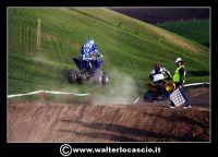 San Cataldo Nuovo crossodromo, sito in Contrada Mimiani vicino alla Stazione Ferroviaria. Motocross, motociclette, acrobazie in motocicletta, moto cross. Domanica 16 Marzo 2008.  - San cataldo (2124 clic)