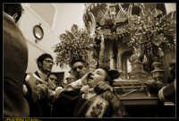 Caltanissetta: Settimana Santa a Caltanissetta 2009. Cristo Nero. Processione del Cristo Nero a Caltanissetta. Processione del Venerdi' Santo a Caltanissetta. Photo Walter Lo Cascio www.walterlocascio.it  - Caltanissetta (3904 clic)