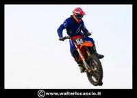 San Cataldo Nuovo crossodromo, sito in Contrada Mimiani vicino alla Stazione Ferroviaria. Motocross, motociclette, acrobazie in motocicletta, moto cross. Domanica 16 Marzo 2008.  - San cataldo (2092 clic)