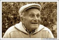 Cerda: Sagra del Carciofo 25 Aprile 2005. Ritratto ad anziano cerdese (Photo seppiata).  - Cerda (3019 clic)