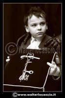 Caltanissetta: Settimana Santa a Caltanissetta edizione 2008. Mercoledi' Santo a Caltanissetta. Il Capitano della Real Maestranza. I bambini della Real Maestranza di Caltanissetta.    - Caltanissetta (1361 clic)