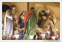 Caltanissetta: Settimana Santa. Giovedì Santo. Particolare della Vara La condotta al Sepolcro. CAL