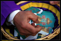 Caltanissetta: Settimana Santa a Caltanissetta 2009. Cristo Nero. Processione del Cristo Nero a Calt