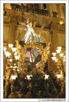 Caltanissetta: Settimana Santa. Giovedì Santo. Particolare della Vara La Sacra Urna. CALTANISSETTA