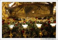 Caltanissetta: Settimana Santa. Giovedì Santo. Particolare della Vara La Sacra Urna. Il Cristo Mor