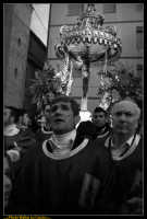 Caltanissetta: Settimana Santa a Caltanissetta 2009. Cristo Nero. Processione del Cristo Nero a Caltanissetta. Processione del Venerdi' Santo a Caltanissetta. Photo Walter Lo Cascio www.walterlocascio.it  - Caltanissetta (3817 clic)