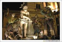 Caltanissetta: Settimana Santa. Giovedì Santo. Particolare della Vara La flagellazione. CALTANISSE