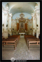 Agira. Chiesa di San Giuseppe. Interno. Chiesa ad un'unica navata.  - Agira (3129 clic)
