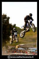 San Cataldo Nuovo crossodromo, sito in Contrada Mimiani vicino alla Stazione Ferroviaria. Motocross, motociclette, acrobazie in motocicletta, moto cross. Domanica 16 Marzo 2008.  - San cataldo (2120 clic)