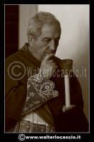 Caltanissetta: Settimana Santa a Caltanissetta edizione 2008. Mercoledi' Santo a Caltanissetta. Il Capitano della Real Maestranza. Padre Canalella.  - Caltanissetta (1547 clic)