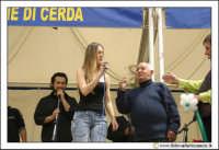 Cerda: Sagra del Carciofo 25 Aprile 2005. Animazione sul palco.  - Cerda (5905 clic)