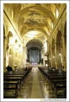 Acireale: BAsilica Cattedrale Maria S.S. Annunziata (sec. XVII - XVIII). Interno. navata Principale.  - Acireale (5284 clic)
