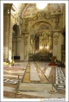 Acireale: BAsilica Cattedrale Maria S.S. Annunziata (sec. XVII - XVIII). Interno. Particolare della Meridiana di Cristino Federico Peters (1843).  - Acireale (5478 clic)