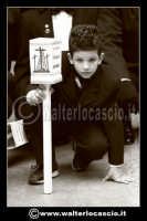 Caltanissetta: Settimana Santa a Caltanissetta edizione 2008. Mercoledi' Santo. Il Capitano della Real Maestranza. I bambini nella Real Maestranza di Caltanissetta.  - Caltanissetta (1633 clic)