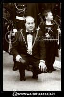 Caltanissetta: Settimana Santa a Caltanissetta edizione 2008. Mercoledi' Santo. Il Capitano della Real Maestranza. Gianni Taibi, categoria Muratori.  - Caltanissetta (1928 clic)