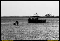 Marsala: Le Saline al Tramonto. La strada che da Trapani conduce a Marsala, costeggiando la laguna che accoglie Mozia, e' fiancheggiata da saline che offrono una vista bellissima: gli specchi d'acqua suddivisi da sottili strisce di terra formano una scacchiera irregolare e multicolore. Foto Walter Lo Cascio www.walterlocascio.it  - Marsala (2351 clic)