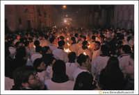 Catania: Festa di Sant'Agata. 5 Febbraio 2005: Festa della Patrona di Catania, Sant'Agata. Folla di fedeli devoti.  - Catania (2493 clic)