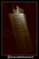 Caltanissetta: Settimana Santa a Caltanissetta edizione 2008. Mercoledi' Santo a Caltanissetta. Il Capitano della Real Maestranza.  Spartito musicale.  - Caltanissetta (1591 clic)