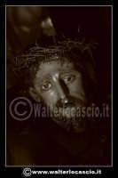 Caltanissetta: Settimana Santa a Caltanissetta edizione 2008. Mercoledi' Santo a Caltanissetta. Il Capitano della Real Maestranza.  Foto Walter Lo Cascio www.walterlocascio.it   - Caltanissetta (1354 clic)