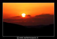 Pietraperzia.  Tramonto Siciliano Foto Walter Lo Cascio www.walterlocascio.it  - Pietraperzia (3381 clic)