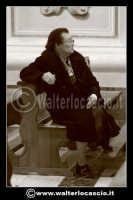 Caltanissetta: Settimana Santa a Caltanissetta edizione 2008. Mercoledi' Santo a Caltanissetta. Il Capitano della Real Maestranza. Foto Walter Lo Cascio www.walterlocascio.it     - Caltanissetta (1378 clic)