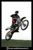 San Cataldo Nuovo crossodromo, sito in Contrada Mimiani vicino alla Stazione Ferroviaria. Motocross, motociclette, acrobazie in motocicletta, moto cross. Domanica 16 Marzo 2008.  - San cataldo (2096 clic)