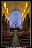 Agira: Chiesa Reale Abbazia di San Filippo. Navata centrale.  - Agira (3547 clic)