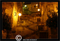 Leonforte. La scalinata.  - Leonforte (1911 clic)