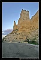 Enna: Castello di Lombardia nel Viale Nino Savarese (scrittore ennese).  - Enna (2769 clic)