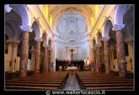 Agira: Chiesa Reale Abbazia di San Filippo. Navata centrale.  - Agira (3832 clic)