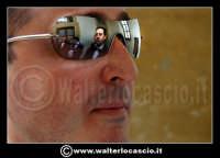 Caltanissetta: Settimana Santa a Caltanissetta edizione 2008. Mercoledi' Santo a Caltanissetta. Il Capitano della Real Maestranza.  Giuseppe Matina e Liborio Fiore....  - Caltanissetta (1799 clic)