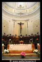 Agira: Chiesa Reale Abbazia di San Filippo. Navata centrale. ALTARE.  - Agira (4001 clic)