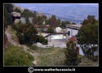 Caltanissetta: Reportage fotografico sulle miniere di Caltanissetta. Miniera Trabonella. Veduta dall'alto.  - Caltanissetta (2809 clic)
