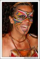Agira, Agosto 2005. Carnevale Estivo 2005. Ragazza in maschera #1  - Agira (2606 clic)